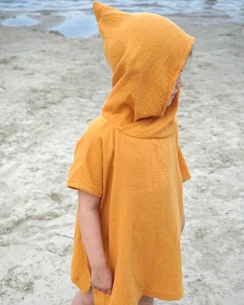 Beach Poncho Gelb